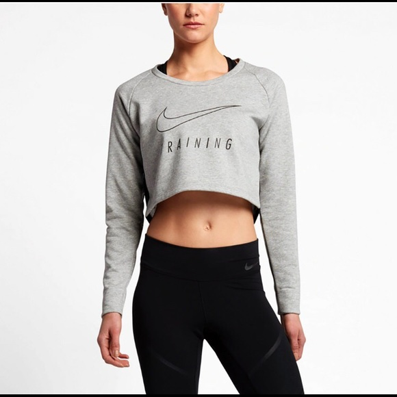 72595fdc6c1 Nike Tops | Last Price Dry Versa Cropped Training Crop | Poshmark