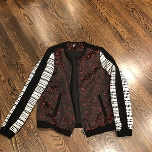 TOPSHOP jacket one of a kind size 8 bomber