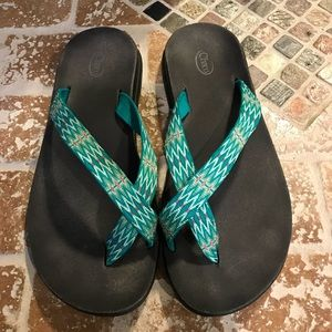 Chaco flip flop size 10W.