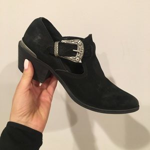 Free People buckle bootie 7