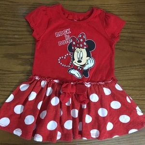"""Disney"" Minnie Mouse Red Dress"