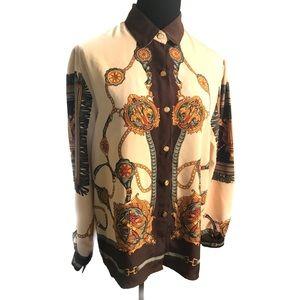 Vintage 80's top blouse