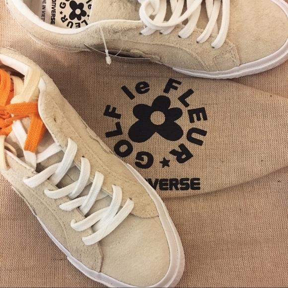 34d262fb865229 Converse Shoes - 🌸 golf le fleur x converse sneakers vanilla suede