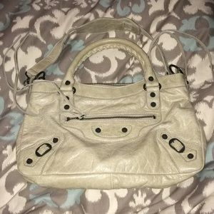 Balenciaga 2 way classique Small lamb grey bag