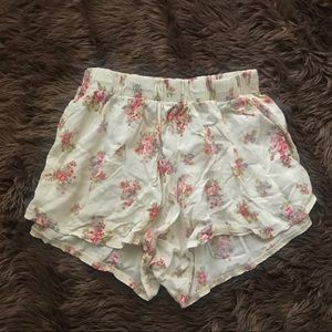 Brandy Melville floral Remi shorts