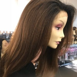 Accessories - Wig ombré thick texture Fullcap Free Part long Wig