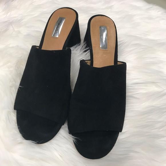 b8ec27ff0f3d Halogen Shoes - Halogen Freda Slide Sandal in Black