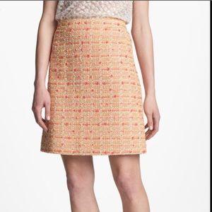 Kate Spade Pamela Tweed Skirt
