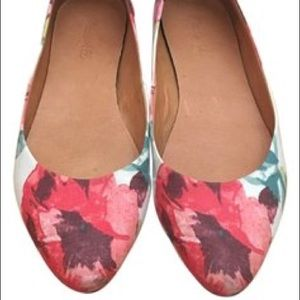 Madewell floral flat