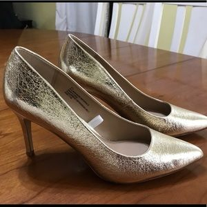 2516f3c2683 A New Day (Target) Shoes | Gold High Heel Pumps | Poshmark