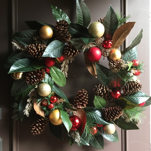 fancy large christmas wreath - Large Christmas Wreath