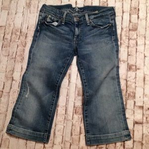Women's Capri jeans size 32 7 of all mankind