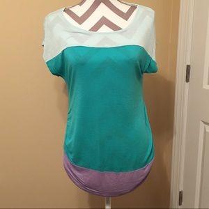 Short sleeve maternity T-shirt