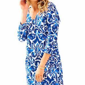 Lilly Pulitzer NWT Cori Pima Cotton Dress In Sea Dreamin $98