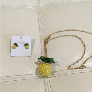 Kate spade pineapple set