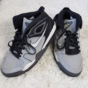 online store 65f04 a52ab Nike Shoes - Nike Air Flight Falcon Sneakers Silver Gray 10.5
