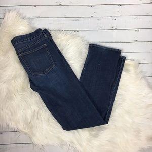J. CREW Matchstick jeans straight leg