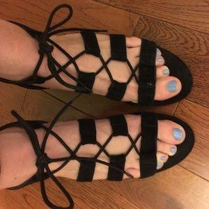 Nine West wedge sandals sz. 9