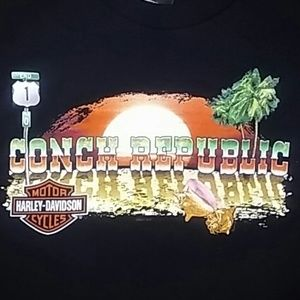Harley Davidson Key West Large Shirt
