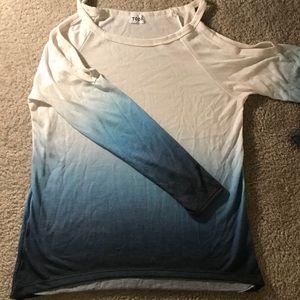 Shoulder Cut-Out Shirt