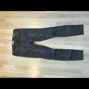 Frame Denim Le Skinny gray jeans size 28