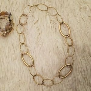 Banana Republic gold chain necklace
