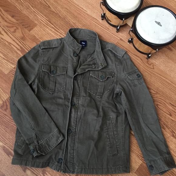 dda078de9b737 GAP Jackets & Coats | Mens Military Field Jacket | Poshmark