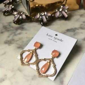 Kate Spade•Crystal Drop Earrings