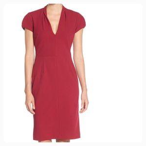 Betsey Johnson Ruby Scuba Sheath Dress
