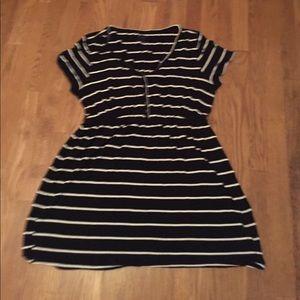 Tops - Motherhood Maternity Striped Shirt