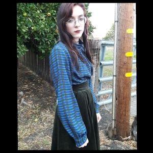 🍁Trend! Pretty vintage blouse!