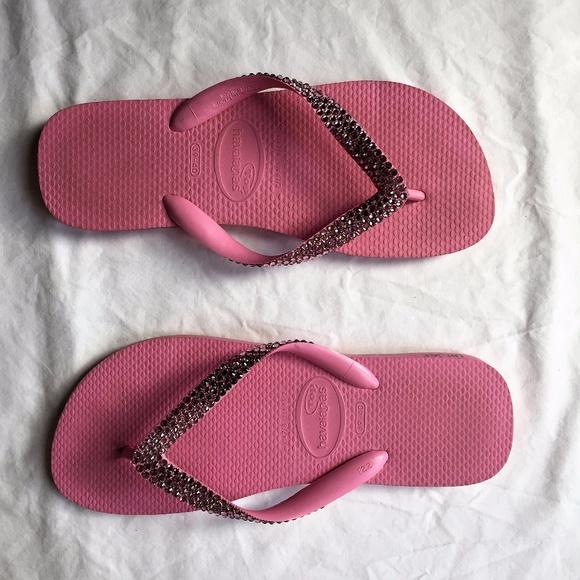 3ade46a3f487 Havaianas Shoes - Havaianas Lori Jack Swarovski Crystal Flip Flop 8