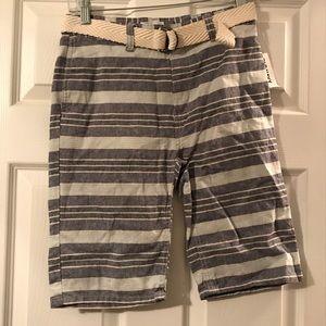 Old navy flat front shorts