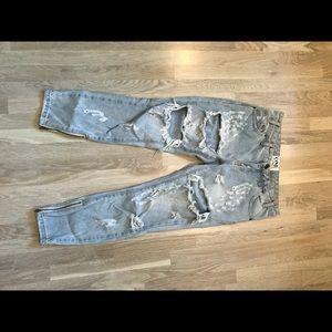 One Teaspoon size 27 Freebird destroyed jeans