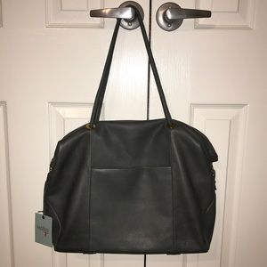 HOBO Porter Tote in Pewter
