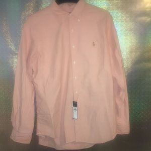 Polo Ralph Lauren Shirt Men Button Long Sleeve XL
