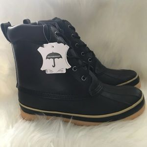 Other - Men's Brand New waterproof Leather Bean Boot