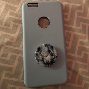 Accessories - Sky Blue IPhone 6 Plus Case