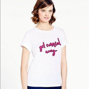NWT Kate Spade Get Carried Away T-Shirt