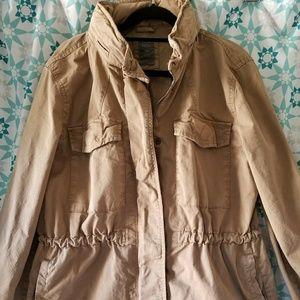 Gap Tan/Beige Utility Jacket