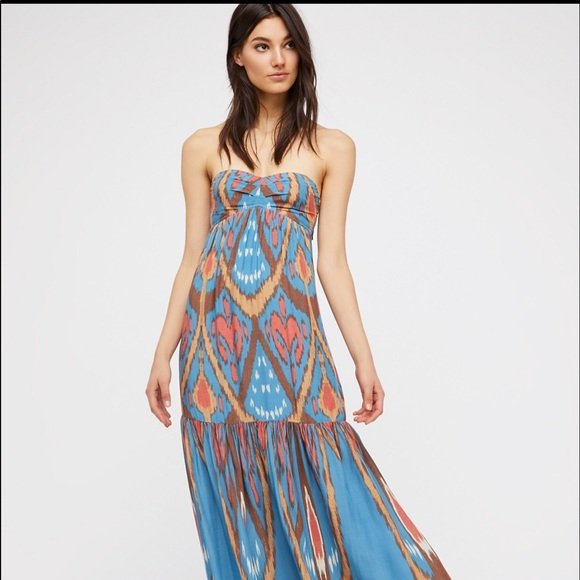 390e84c77c95 Free People Dresses & Skirts - Free People Mojave Maxi Dress Size Large