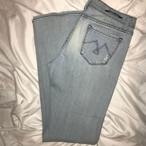 Womens Vigoss Jeans Distressed Size 9🦄🦄🦄🦄