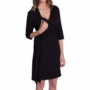 Udderly Hot Mama Whimsical Wrap Dress Sz 1 Small