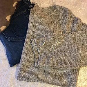 🍂Eileen Fisher 💯 Linen Sweater SZ Petite Medium