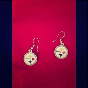 Jewelry - Pittsburgh Steelers Ear rings. Super Cute