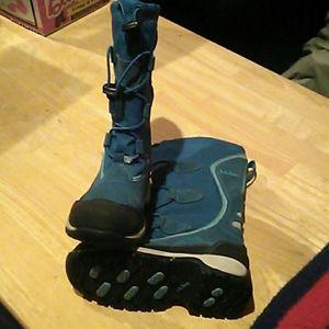 Kids LL Bean snow boots