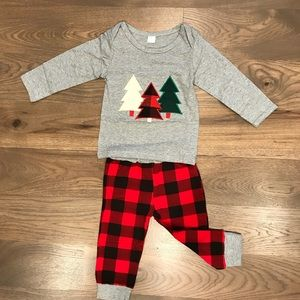 Other - Boys Plaid Set