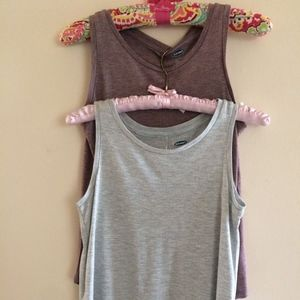 2 Old Navy Youth Relaxed Fit Tanks