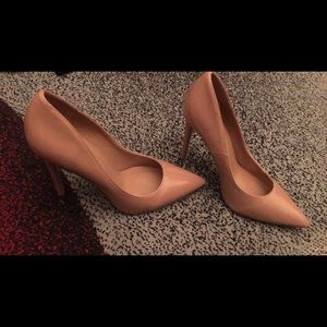 Patent Leather Nude Pumps 👠