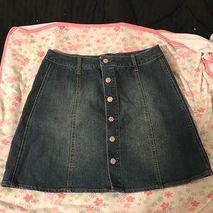 Jean skirt 🌻